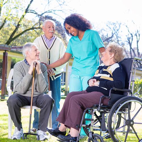 Nursing home care service