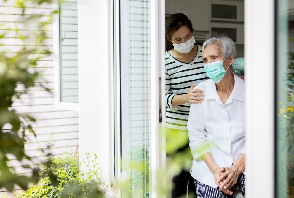 Care For Elderly People In Covid-19 Pandemic